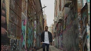 Israel Adesanya Tours Melbourne Street Art