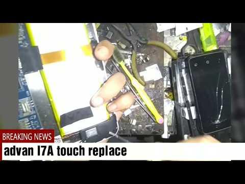 Cara ganti touchscreen advan I7A