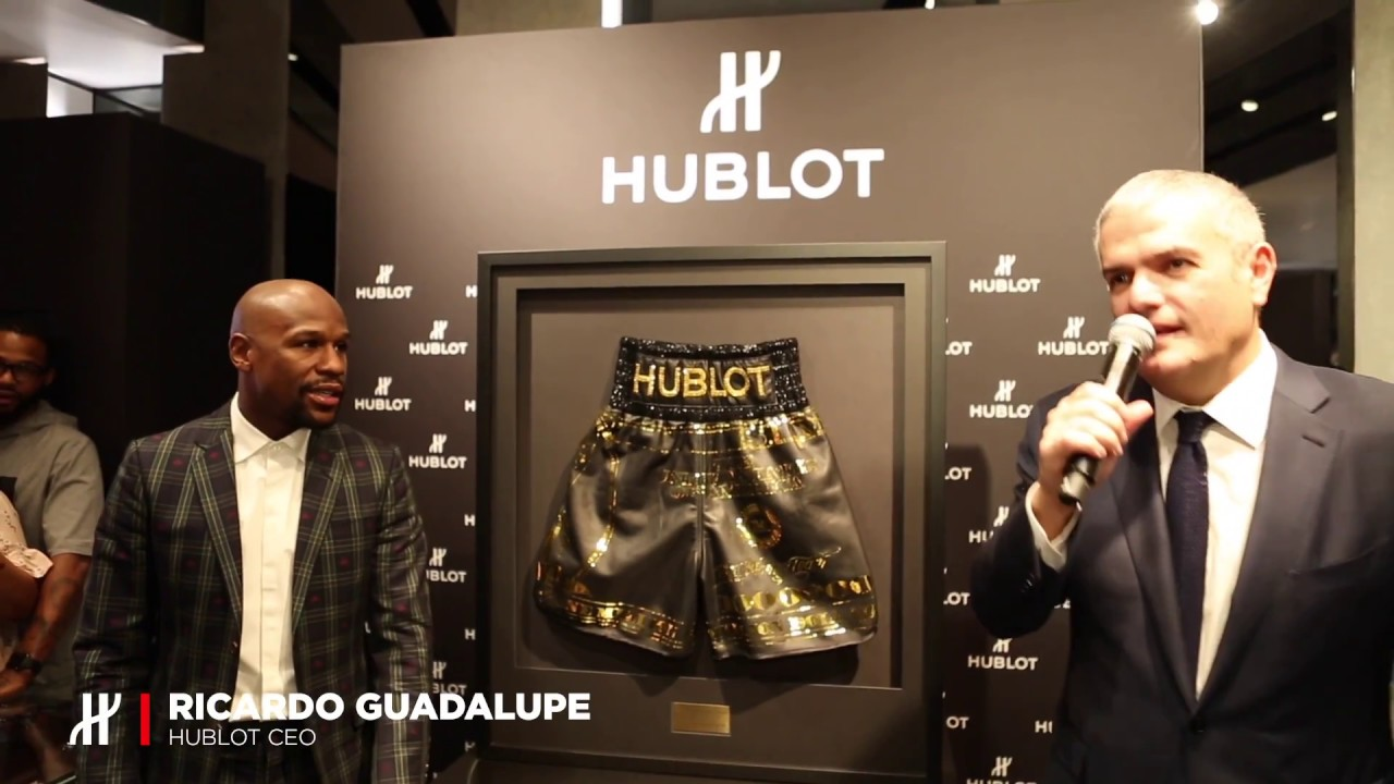 HUBLOT REVEALS THE BIG BANG UNICO TMT WITH FLOYD MAYWEATHER IN LAS VEGAS