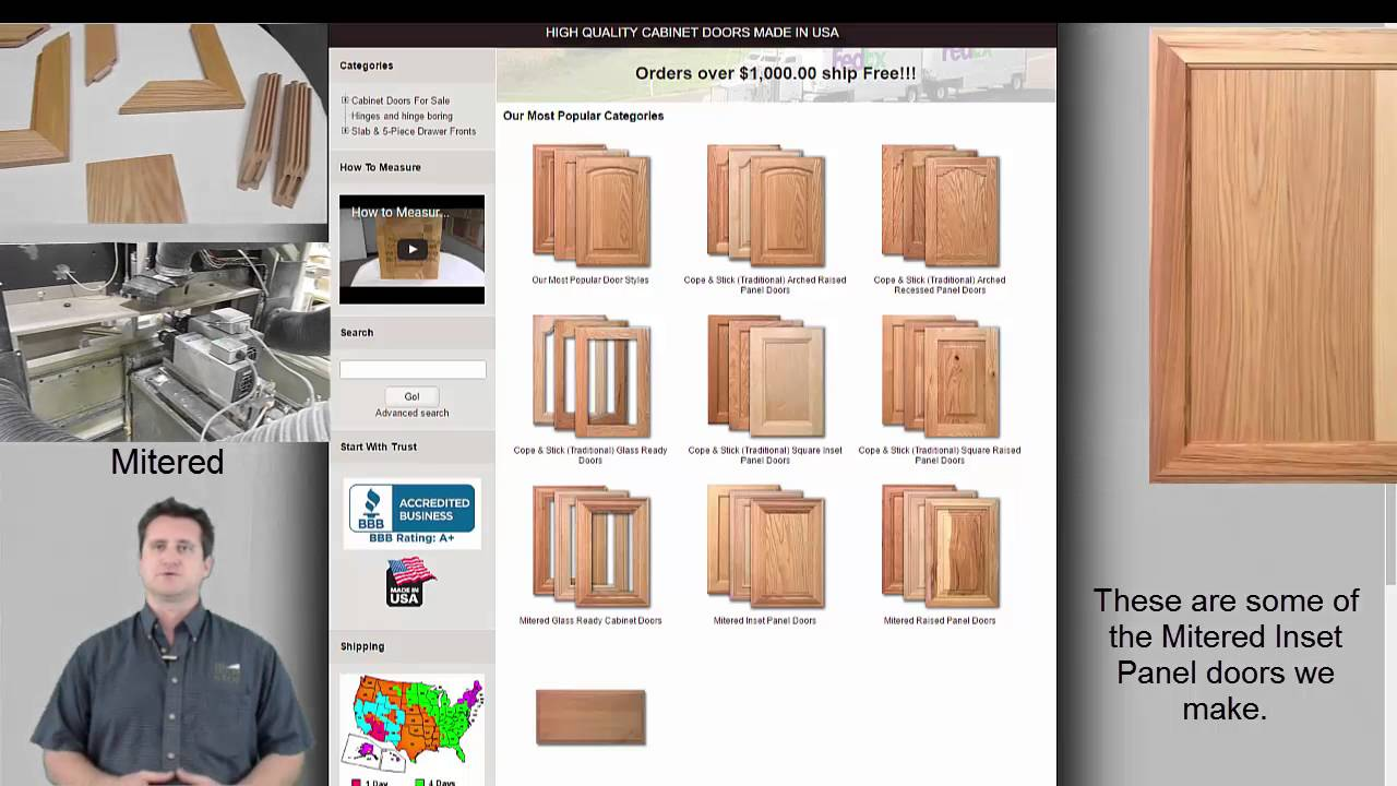 Buy Doors Online How To Buy Kitchen Cabinet Doors Online