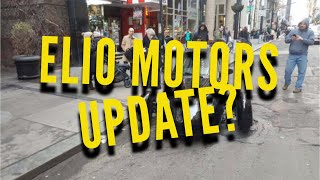 Let's Talk Elio:  An Updates?