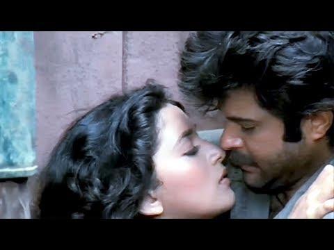 Anil Kapoor, Madhuri Dixit, Kiran Kumar, Tezaab - Scene 16/20 (k)