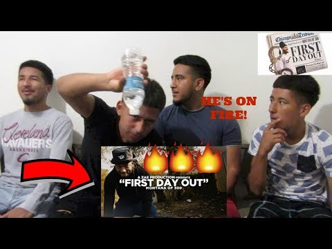 Montana Of 300 - First Day Out [REMIX] Shot By @AZaeProduction REACTION