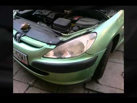 Peugeot 307 Polerowanie Lamp Youtube