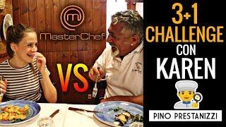 3+1 CHALLENGE con EX ASPIRANTE MASTERCHEF JUNIOR (KAREN) *NUEVA SECCIÓN*   Pino Prestanizzi