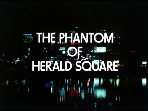Circle Of Fear (TV 1973) :01x22 - The Phantom Of Herald Square