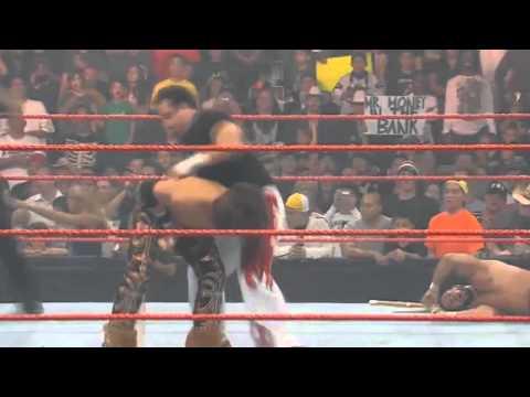 WWE One Night Stand 2008 Singapore Cane Match Full MATCH HD 720p thumbnail