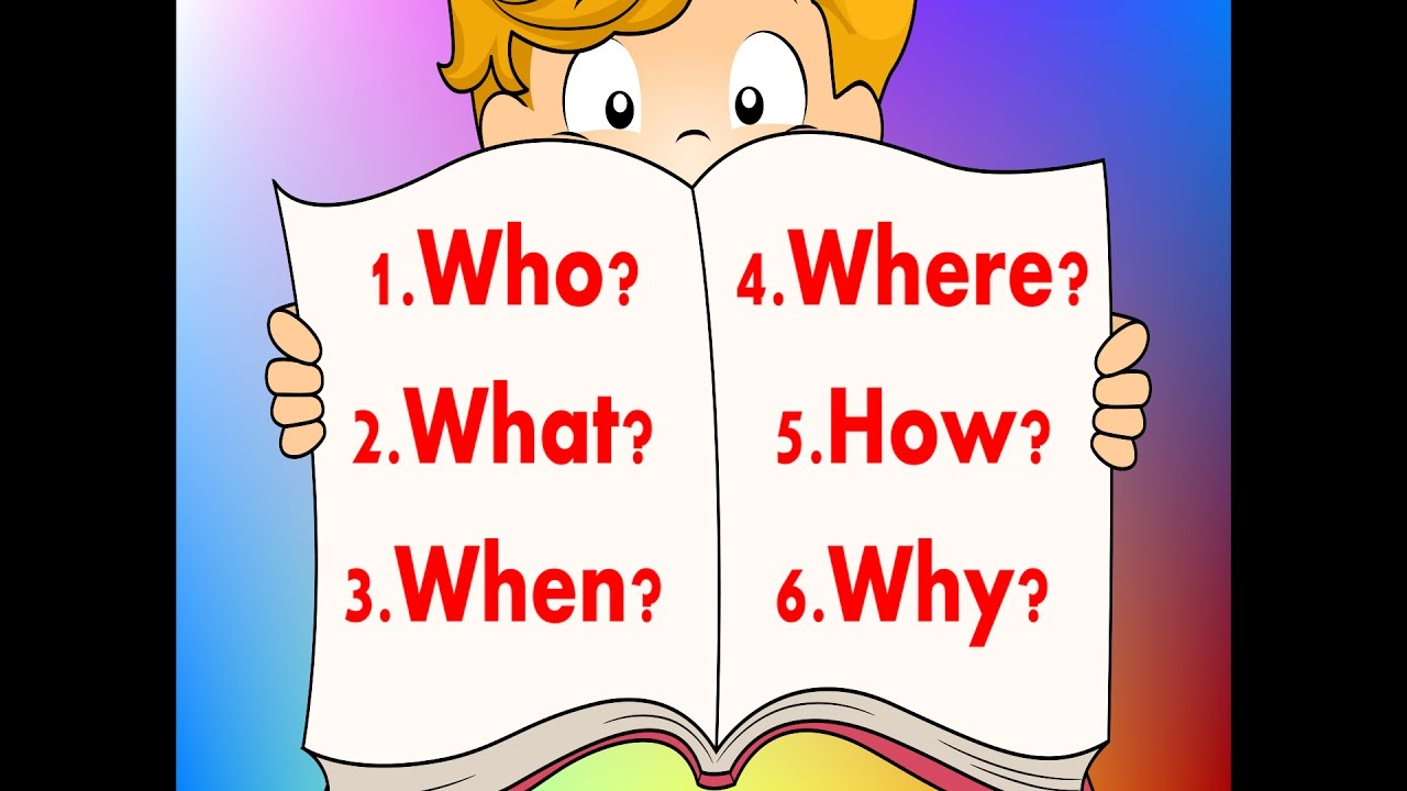 6 Questions | Fun Reading & Writing Comprehension Strategy ...