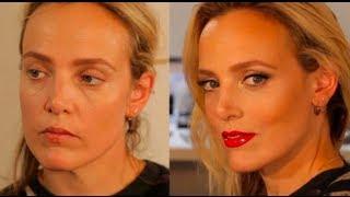 Hollywood Red Lip: Red Lipstick Tutorial Ft Bay Garnett | Charlotte Tilbury