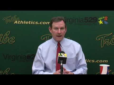 Tribe Men's Basketball Head Coach Tony Shaver Post Game vs. Hampton