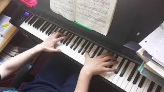 Gambar cover Chopin Ballade no.1 - middle part