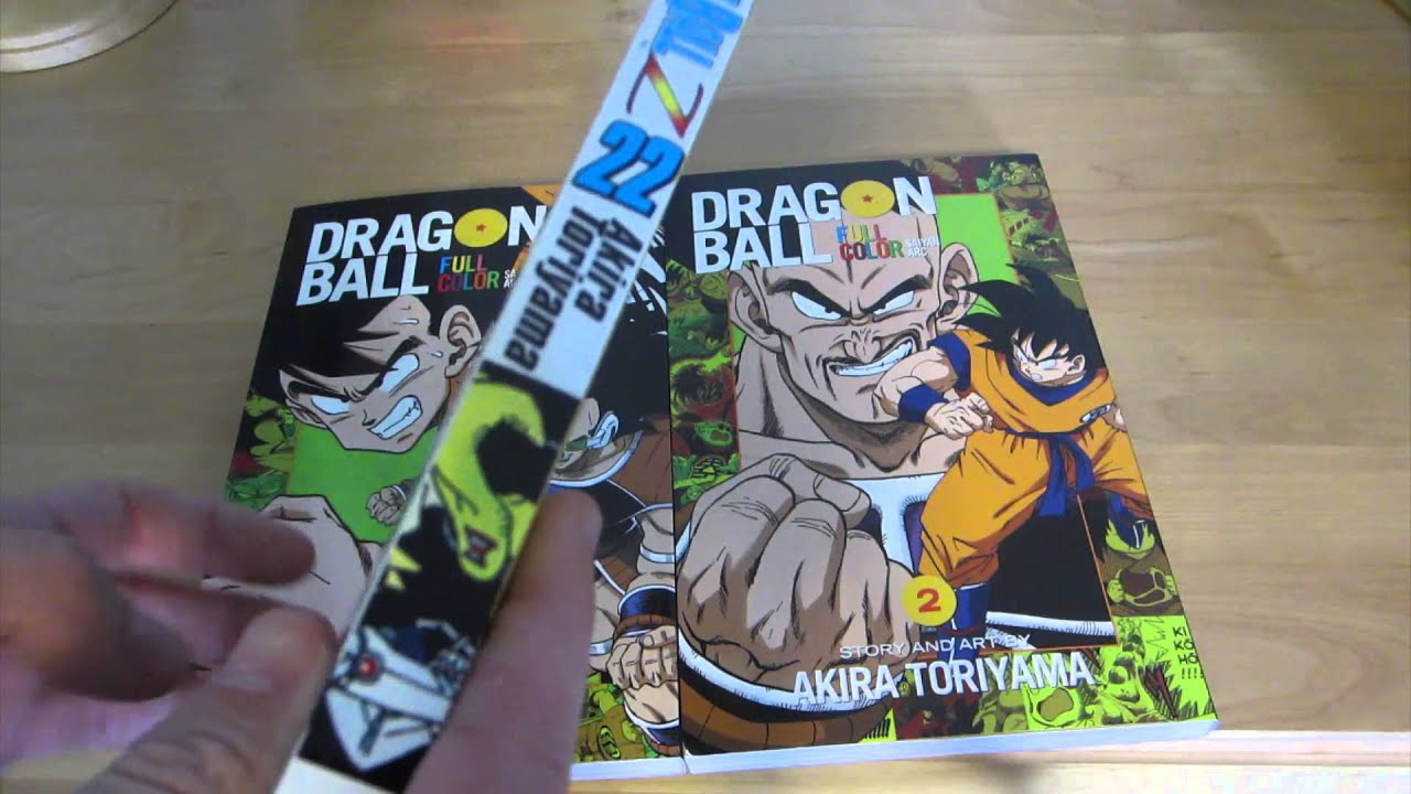 Dragon Ball Z Full Color Graphic Novel Review - YouTube
