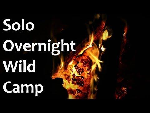 Solo Overnight Bushcraft Camp - Steak Over The Fire - Nessmuk Knife - Woodsman - Bushcraft