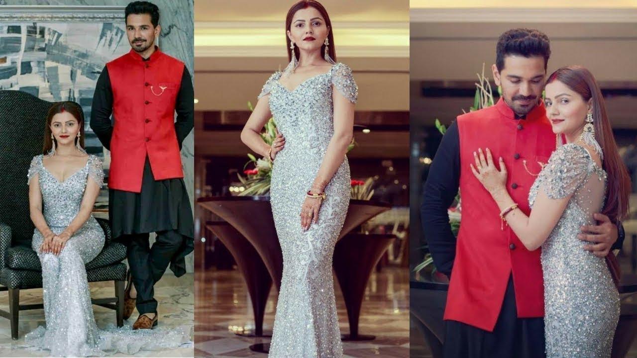 Rubina Dilaik and Abhinav Shukla look resplendent at their