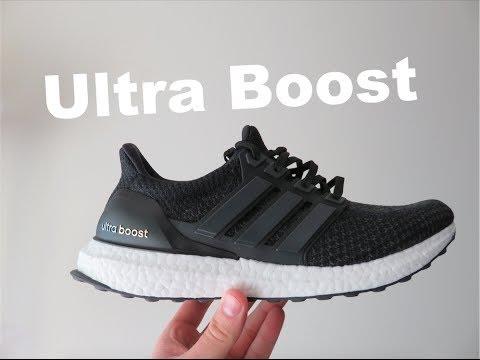 adidas Ultra Boost 3.0: Purple/Black Sneakers: adidas Ultra Boost