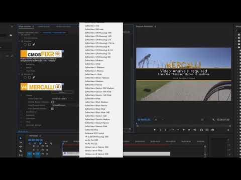 ProDAD Mercalli V4 For Adobe CC2017 Tutorial