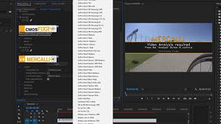 adobe Premiere Plug-in - proDAD Mercalli