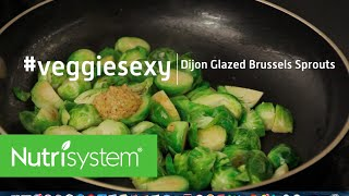 Balsamic & Dijon Glazed Brussels Sprouts
