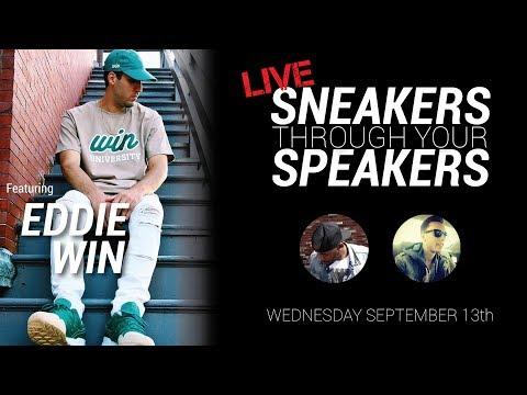 EDDIE WIN TALKS SNEAKERS, FASHION AND THE CELTICS!