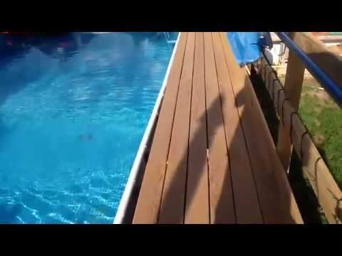 Intex Ultra Frame Pool 32 X16 X 52 Description Youtube