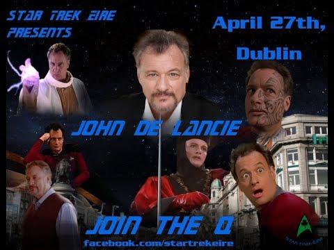 Star Trek Eire Presents John de Lancie
