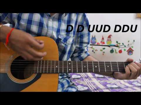Every Strumming Pattern That BOLLYWOOD uses  ALL Patterns explained hindi guitar lesson