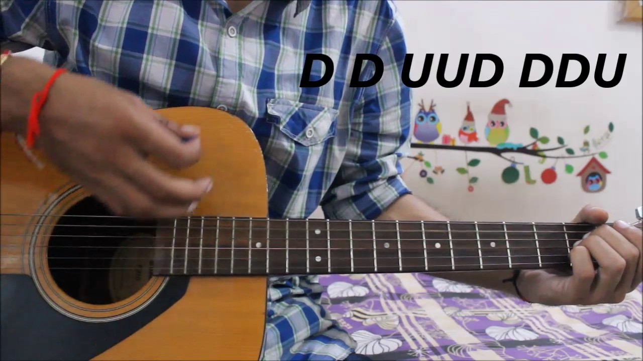 Every Strumming Pattern That BOLLYWOOD uses - ALL Patterns explained hindi  guitar lesson