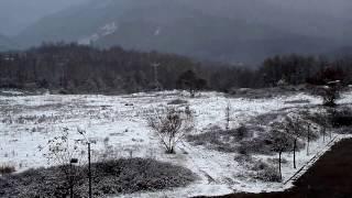 Paşakent Kardelen ilk kar