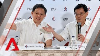 Heng Swee Keat and Chan Chun Sing on new PAP appointments | Full news conference
