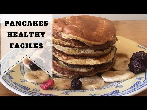 pancake-healthy---recette-facile-&-rapide