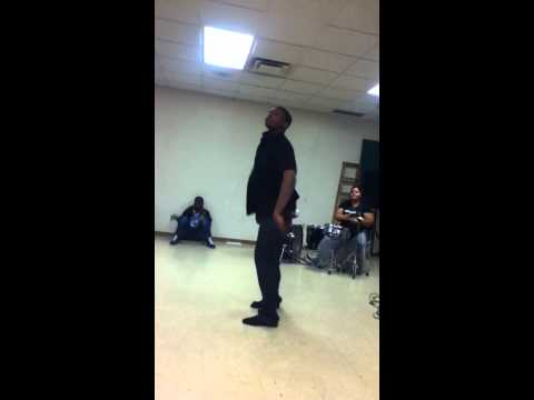 Blaise at Lighthouse Academy of nations 2011 talent show