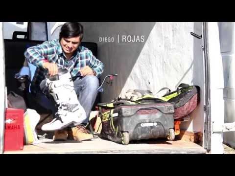 """Diego """"Toro"""" Rojas entrenando motocross en Chile"""