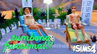 TUMBONA FUNCIONAL (Lounge Chair)   Los Sims 4 CC