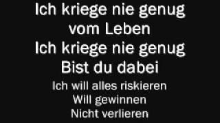 Christina Stürmer - Nie Genug (Lyrics & English Translation)