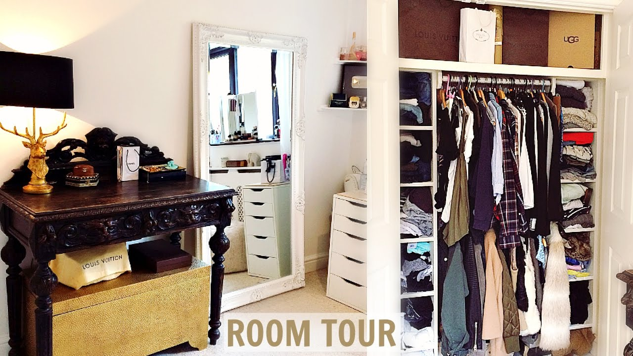 Room Tour Amp Mini Closet Tour 2017 Youtube