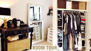 ROOM TOUR & MINI CLOSET TOUR 2017!
