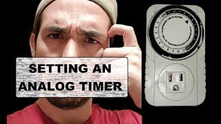 How To Set A Grow Light Timer