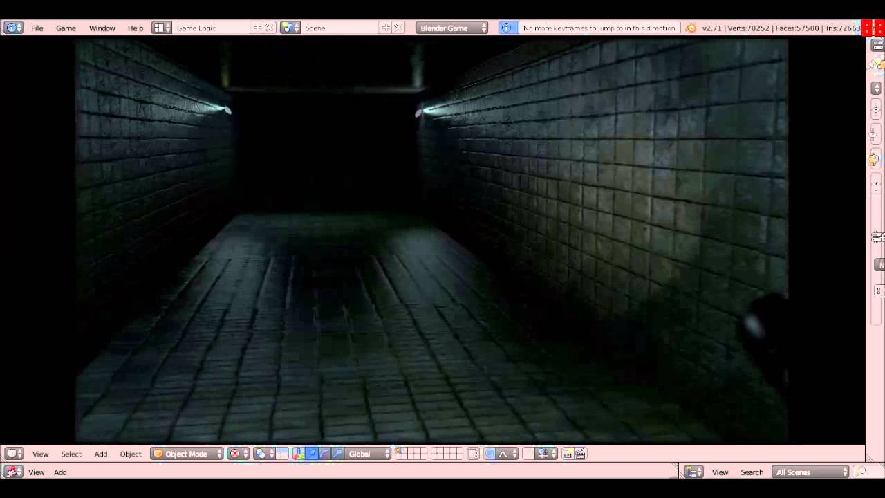 Horrus A Horror Game Made With Blender Game Engine Youtube