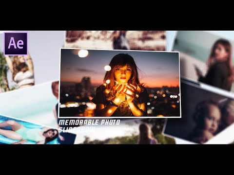 Memorable Photo Slideshow | After Effects Tutorial | Effect For You from YouTube · Duration:  12 minutes 2 seconds