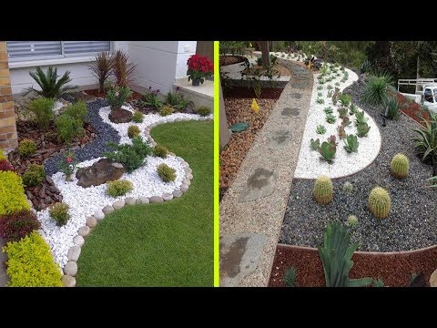 Cool White Gravel Decoration Ideas  Stone and Rock Garden Decoration Ideas