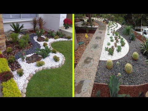 Cool White Gravel Decoration Ideas | Stone and Rock Garden Decoration Ideas