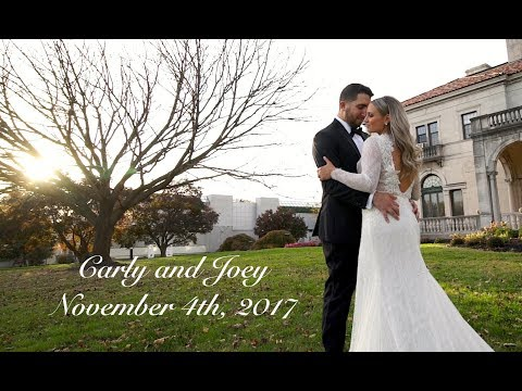 Carly and Joey's Stunning Wedding At Archmere Academy