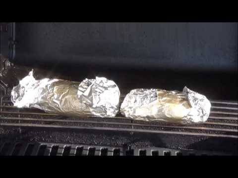 How long does it take to cook a sweet potato on a charcoal grill
