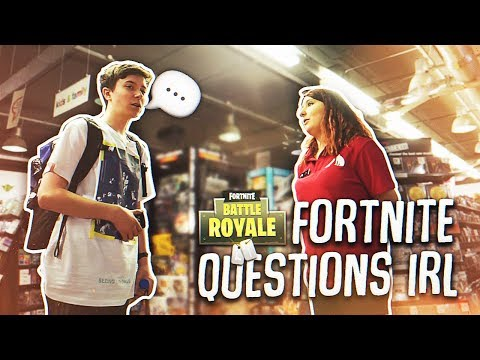 Asking The Public FORTNITE Questions!
