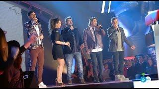 """Coaches con Antonio Orozco: """"Mi Héroe"""" – Primer Directo - La Voz 2016"""