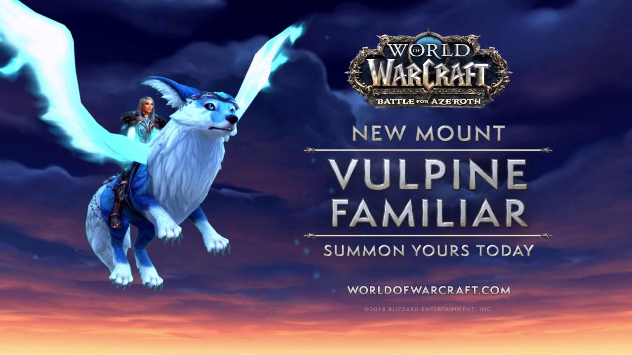 New Mount: Vulpine Familiar