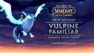 New Mount: Vulpine Familiar
