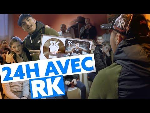 24h avec RK : La remise de son disque d'or à son ancien foyer !