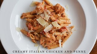 Creamy Italian Chicken and Penne for the Pressure Cooker