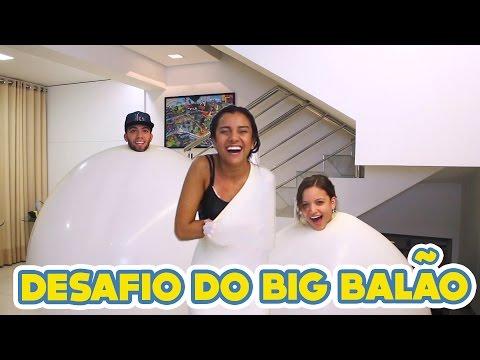 DESAFIO DO BALÃO GIGANTE!